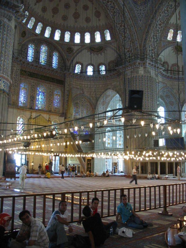 Sultanahmed, die blaue Moschee