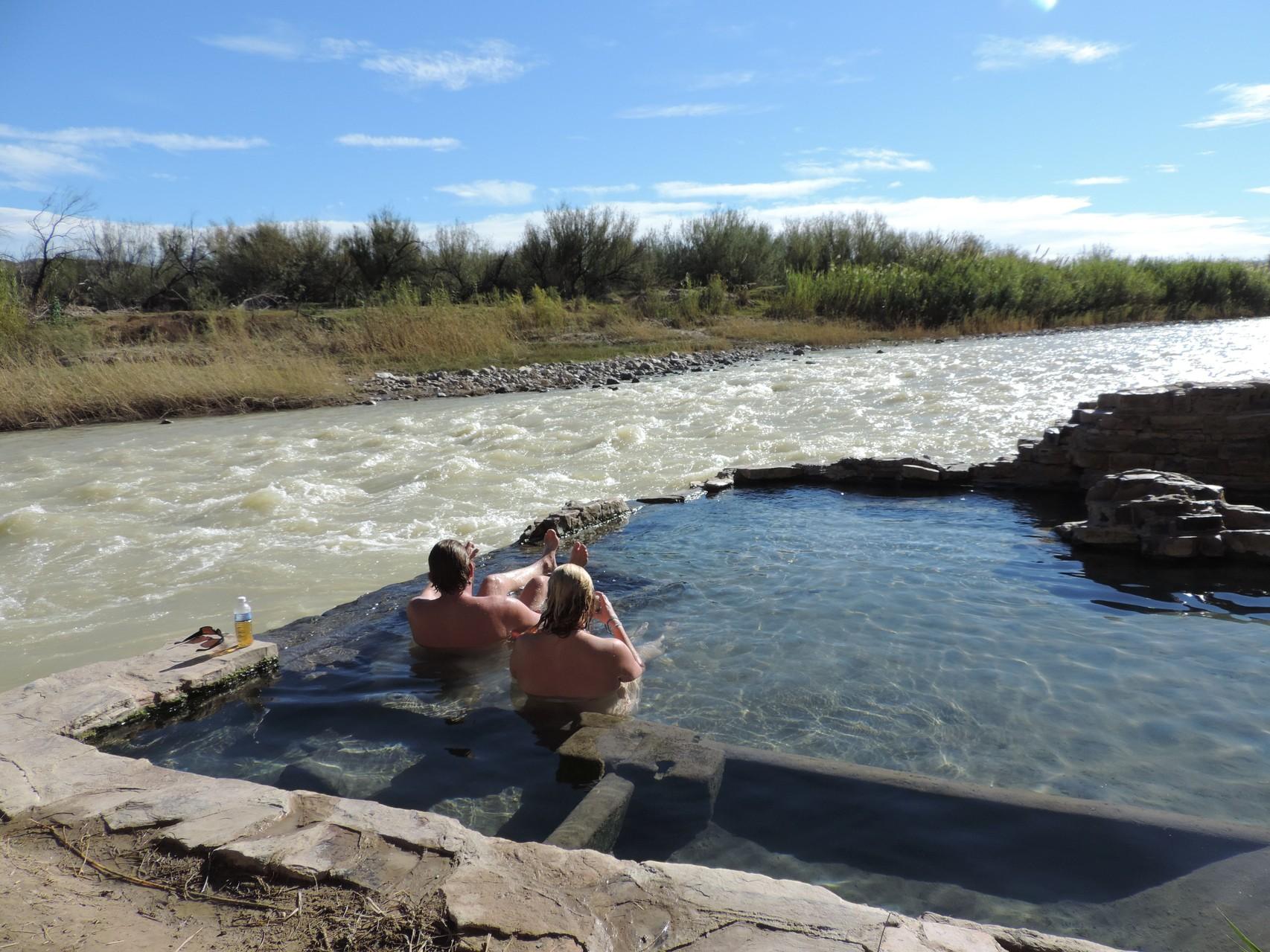 hot Pool im Big Bend