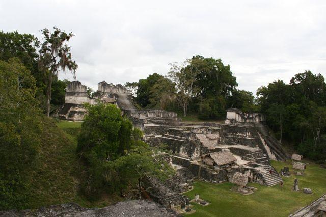 Mayastätte Tikal