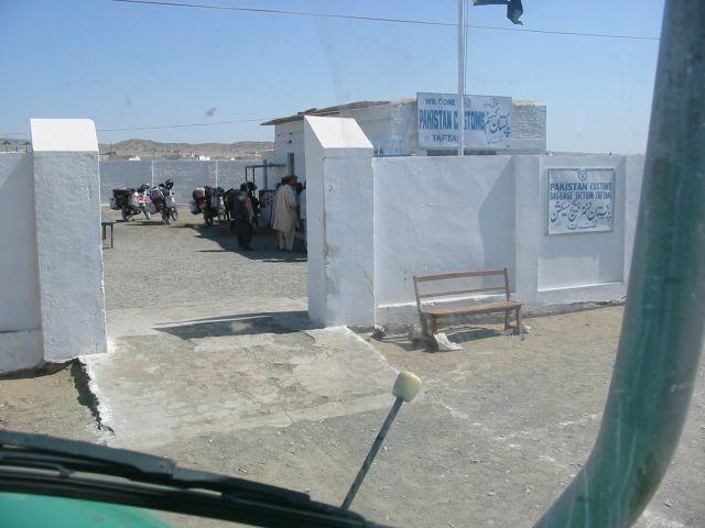 pakistanischer Grenzübergang