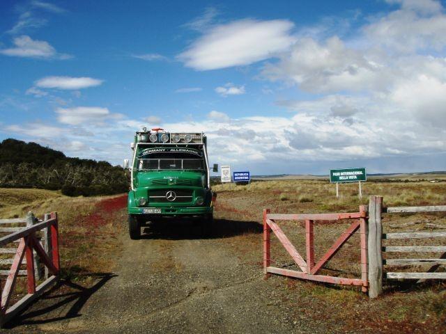Grenzübergang in Radman