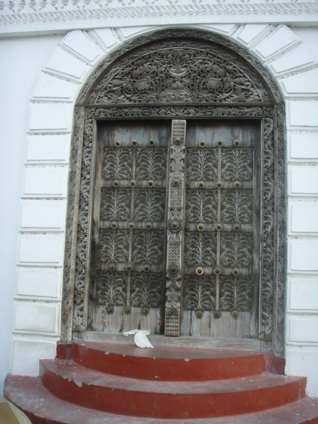 typische Haustüre auf Sansibar