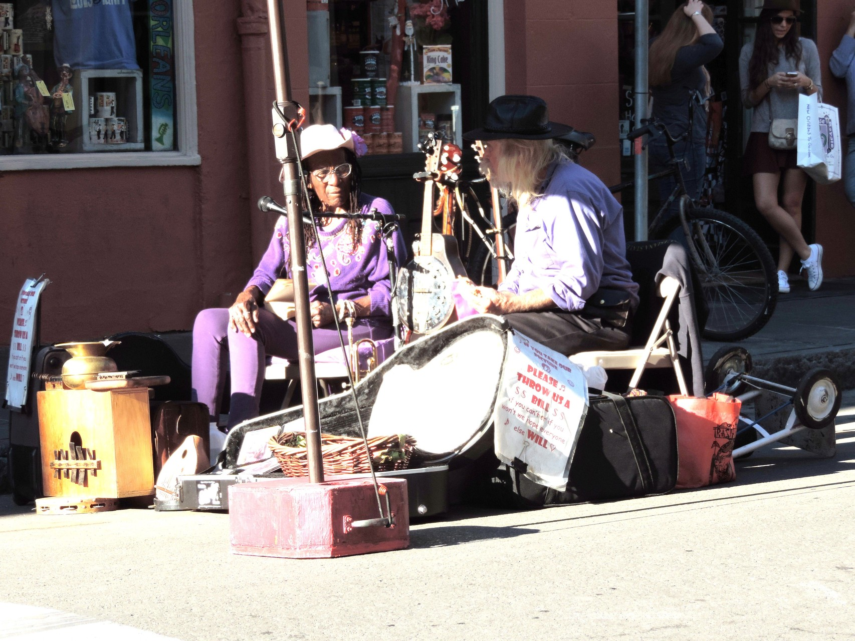 in den Straßen von New Orleans