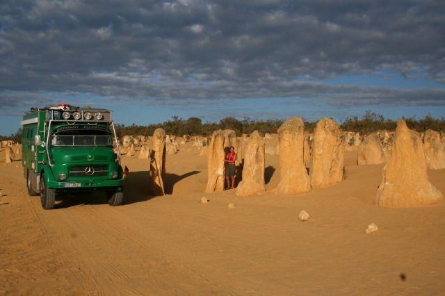 Pinnades Desert