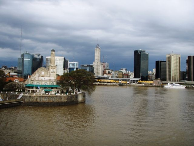 Abfahrt aus Buenos Aires
