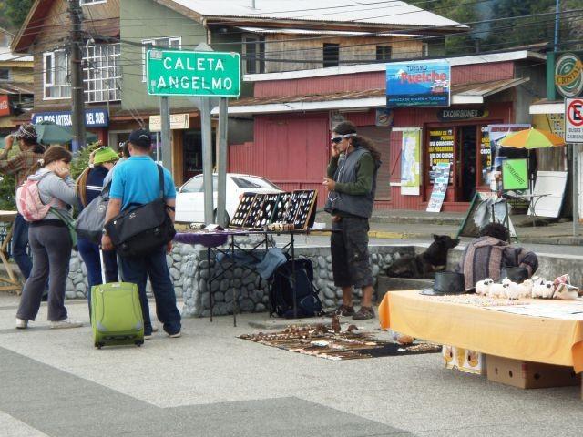 Straßenhändler in Puerto Montt