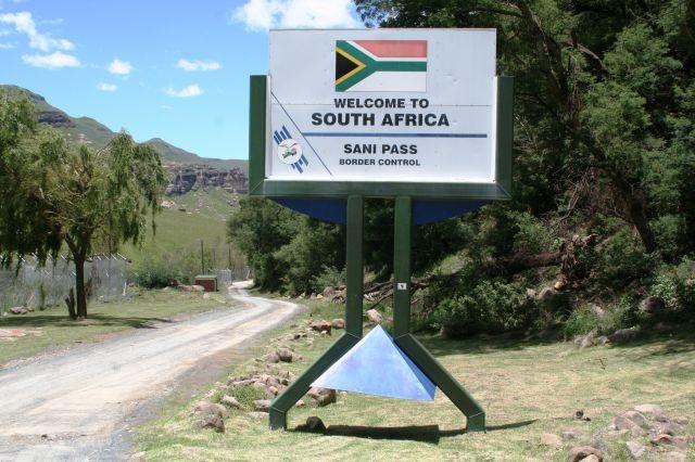 Sani Pass Grenzübergang