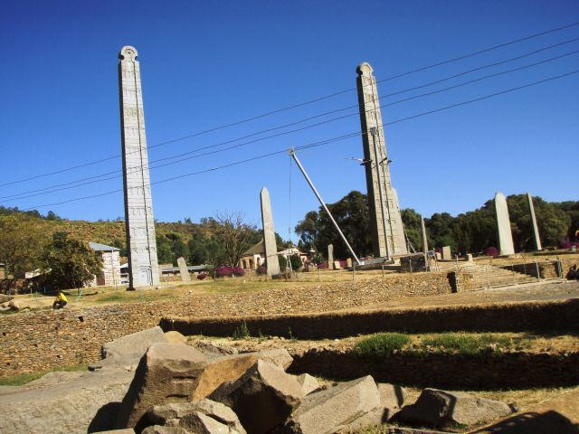 Stelen in Aksum