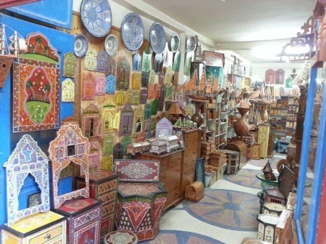auf dem Souk in Essaouira