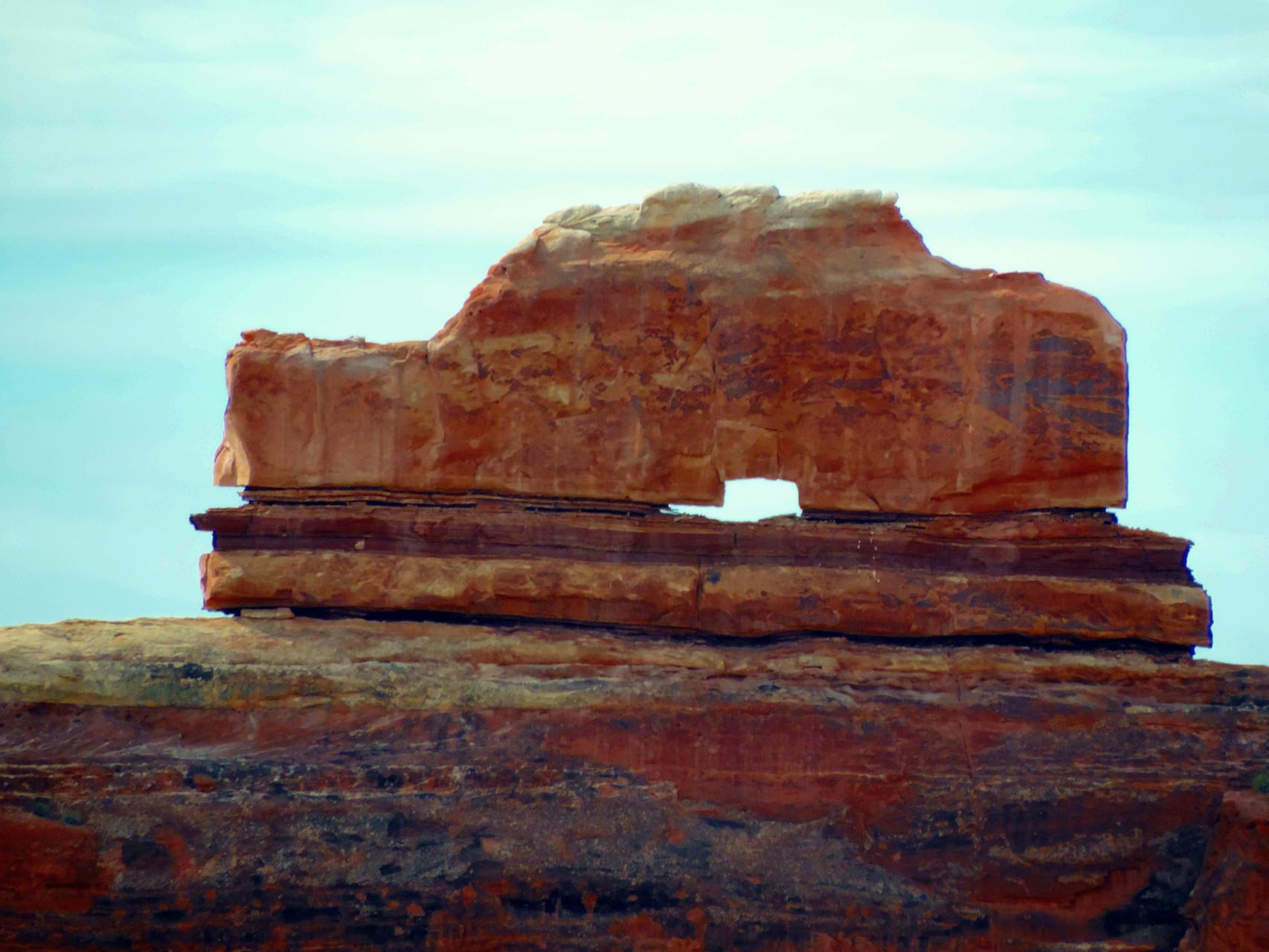 wooden shoe im Canyonlands N.P.
