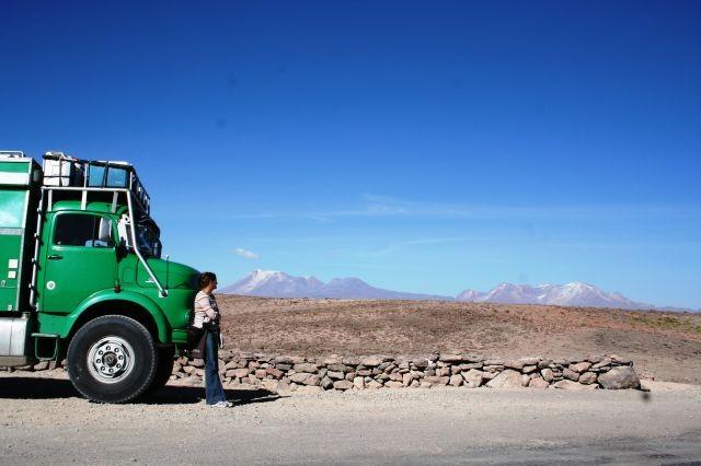 auf dem Weg in den Colca Canyon