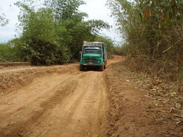 unterwegs nach Luozi