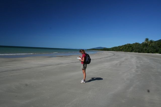 endlose Strände am Cape Trib