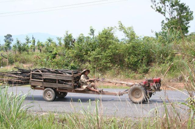 Hauptverkehrsmittel in Laos