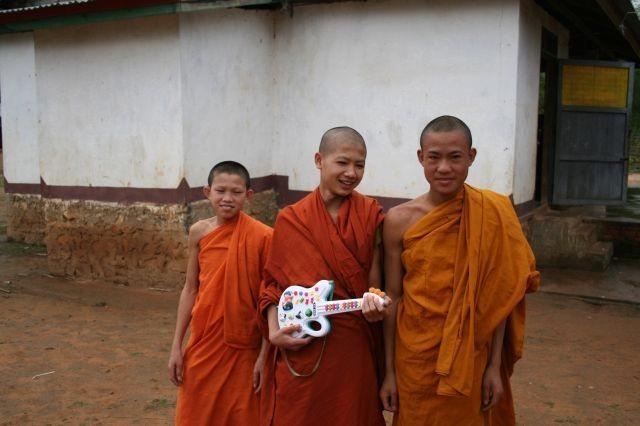 musikalische Mönche