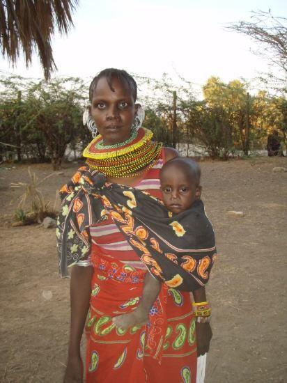 Turkana - Frau