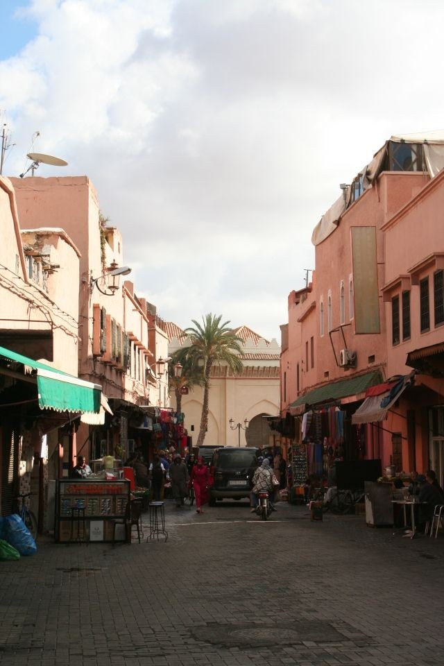 in den Straßen von Marrakesch