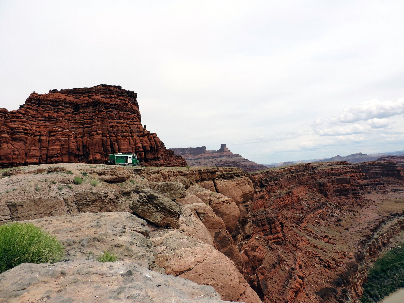 unterwegs zum Shafer Trail