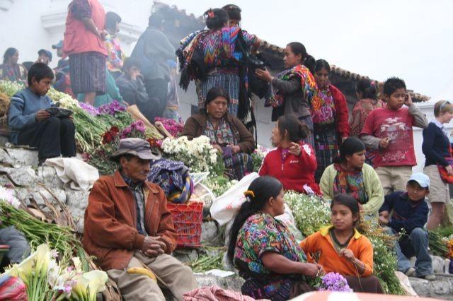 auch das ist der Markt in Chichi