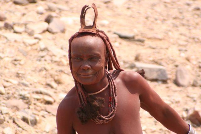 Himba - Frau