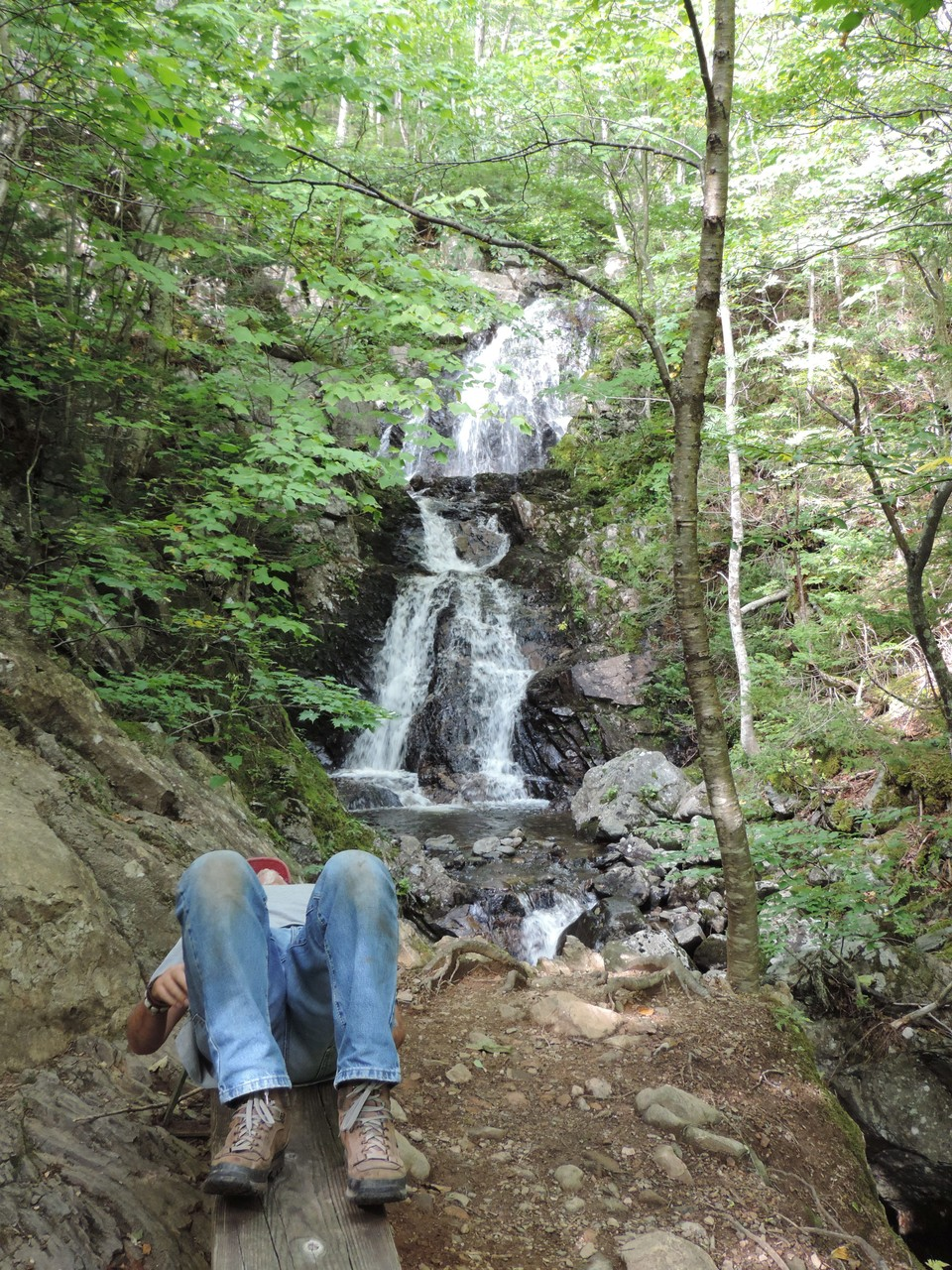 ich bin müde vom Wandern