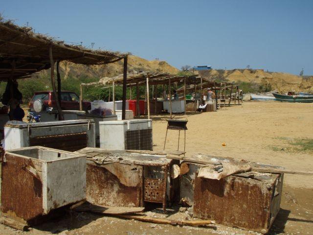 Fischmarkt in Sangano