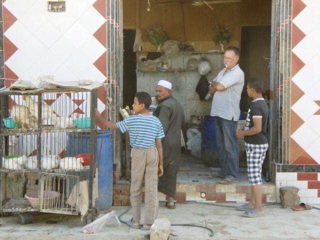 beim Hähnchenkauf