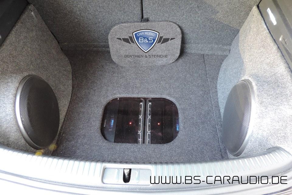 VW Scirocco DNX-525DAB und Soundsystem iDrive BMW Controller