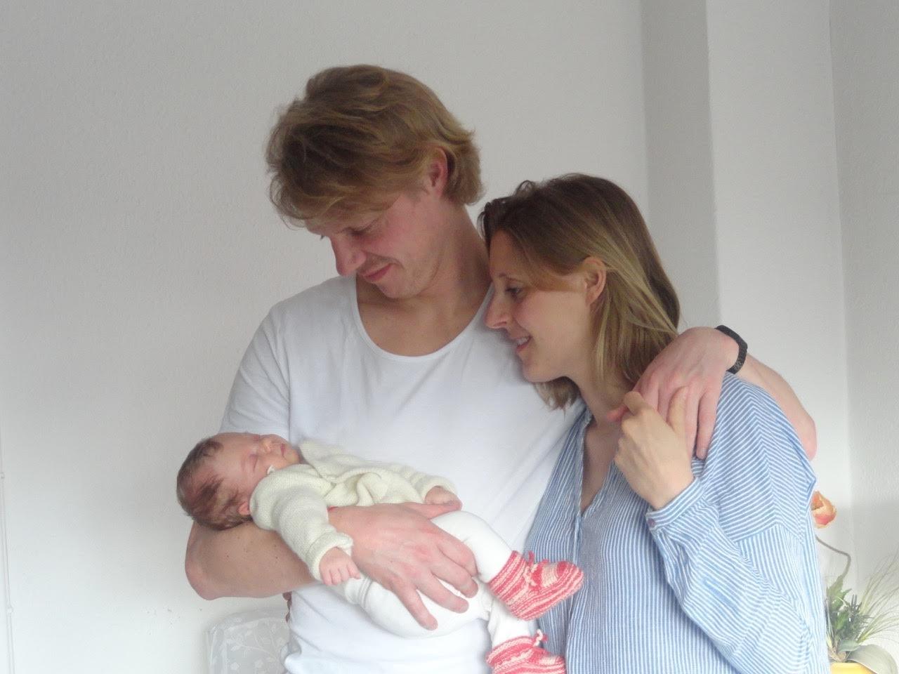 Marie - geboren am 16. März 2016 - Geburtsgewicht: 2960 Gramm, 49 cm