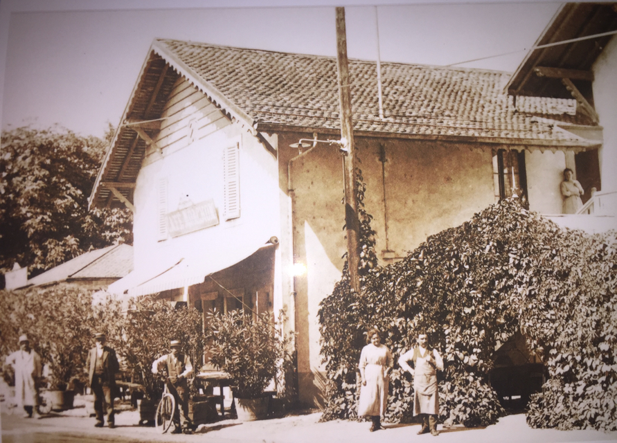 Café Moachon, 1908