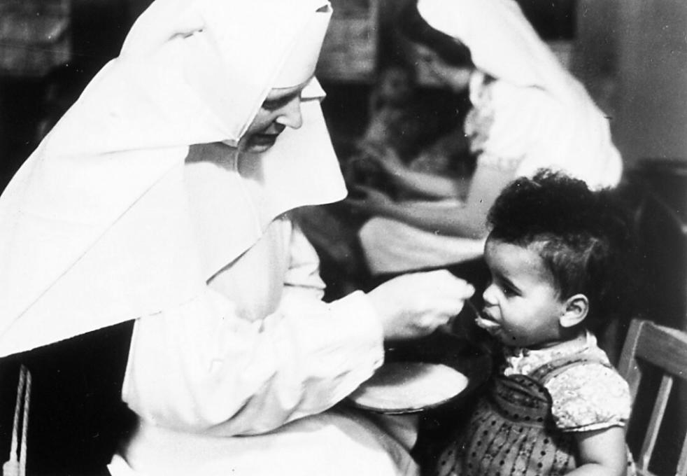 """Gründung durch die """"Schwestern vom armen Kinde Jesu"""""""