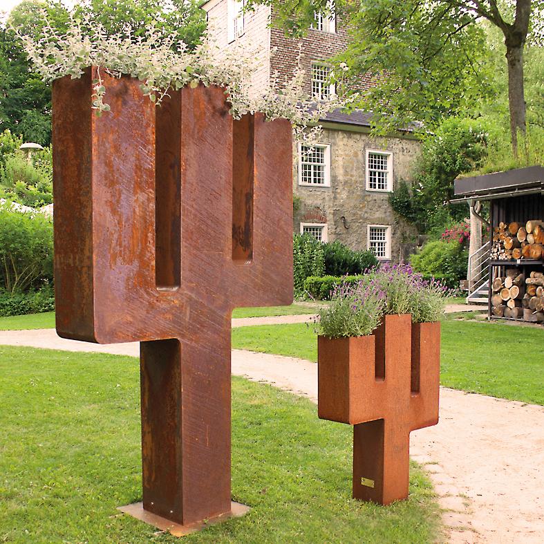 CARAMBA (200 x 115 x 30 cm) & CARAMBA BONSAI (95 x 70 x 17 cm)