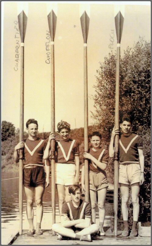 Abellan, Minet, Gaubert, Michler, Roux en 1955