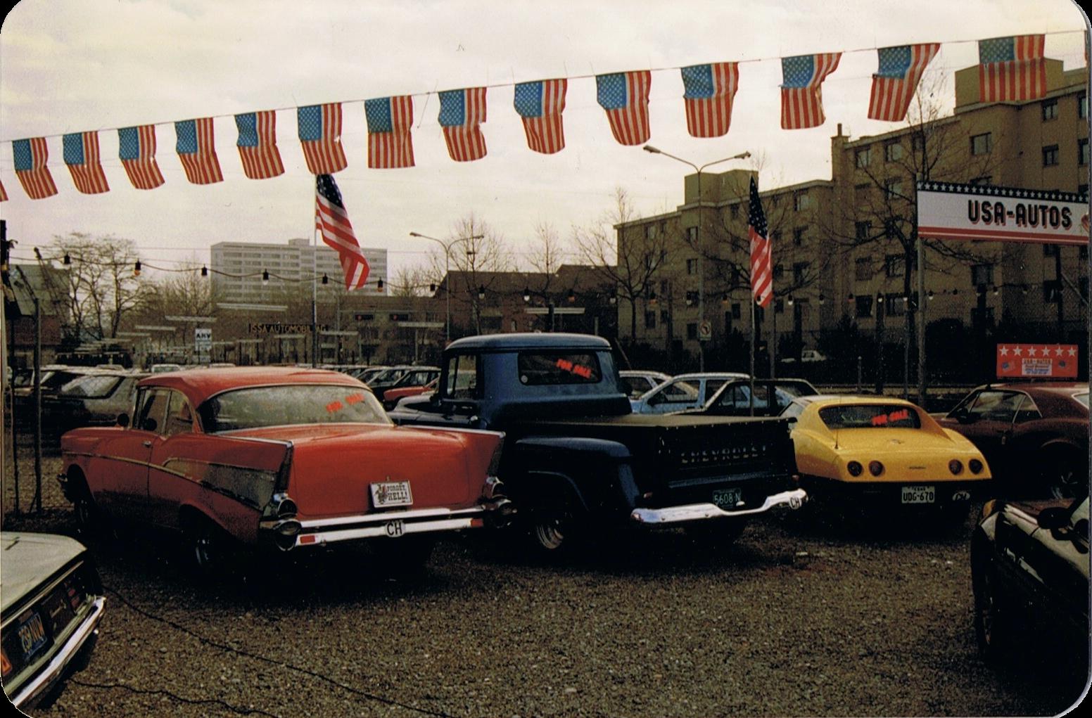 Seit bald 40 Jahren USA-AUTOS... Damals und heute...