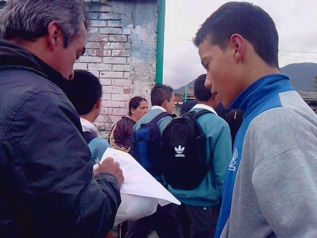 Campaña Referendo Verde Colegio Jose Felx Restrepo