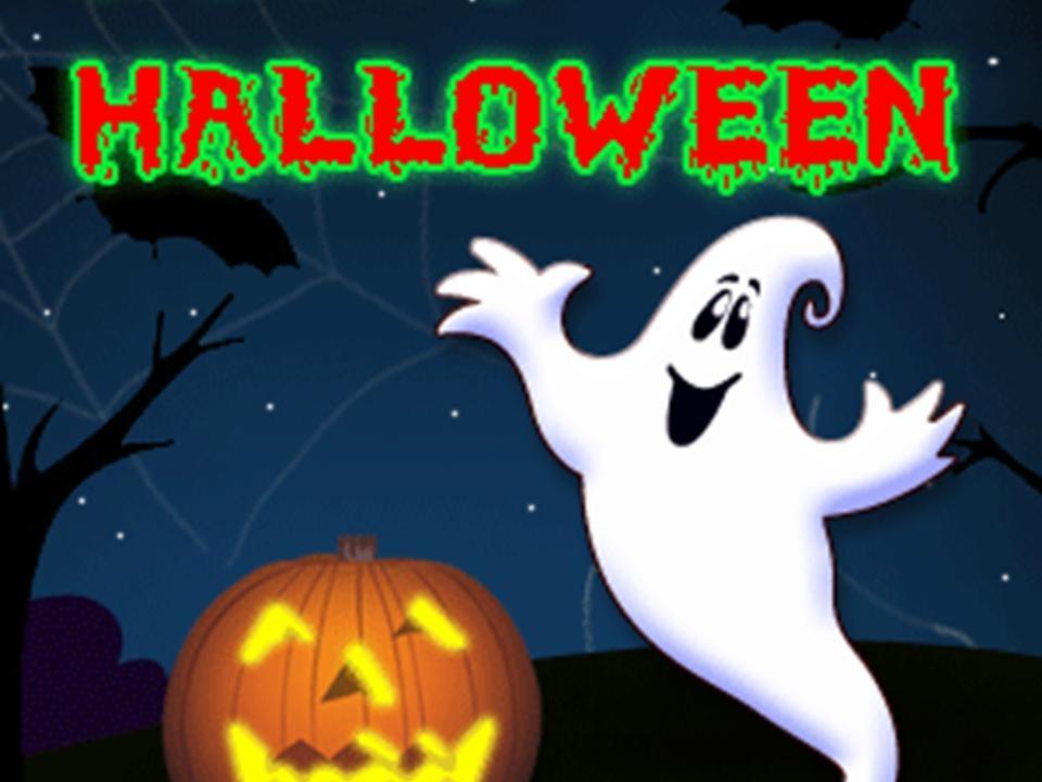 Открытка на хэллоуин на английском языке