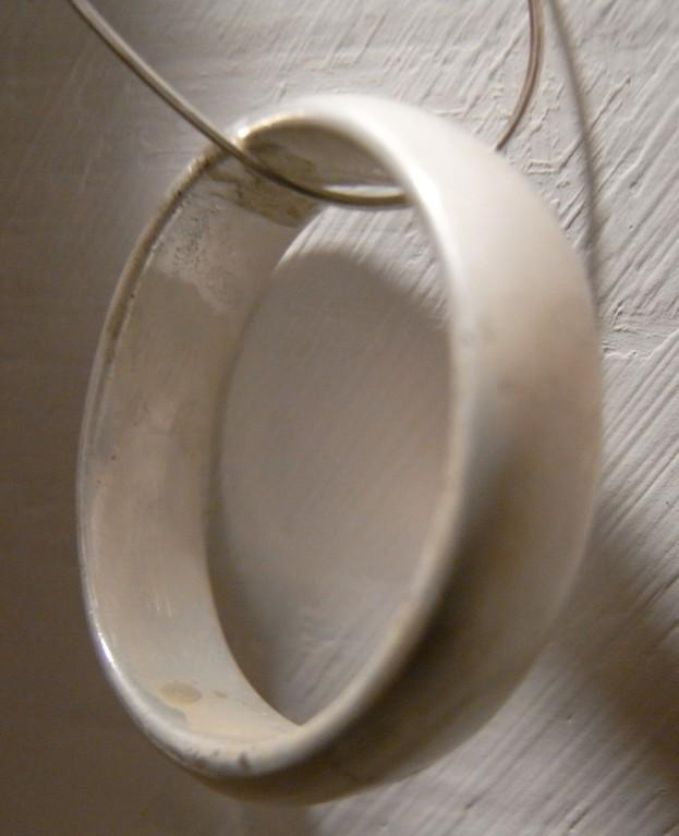 gereinigter Ring nach der Beize