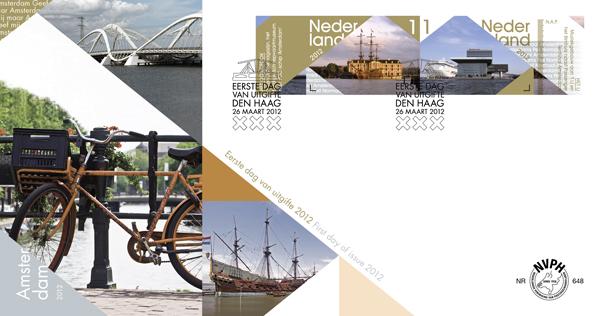 Eerste dag zegel 2012 Amsterdam 2008 02