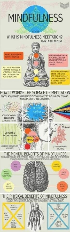 infographie meditation