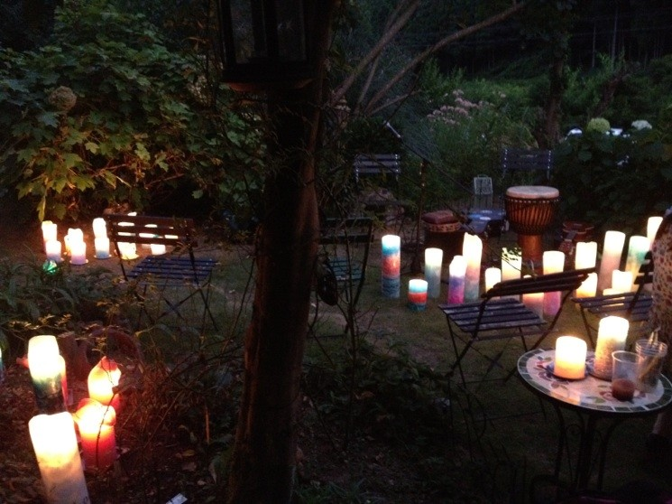 EVENT:Candle decoration at MONA garden