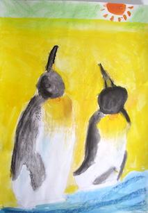 「ペンギン」2年