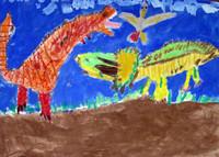 子ども美術の専門家による指導