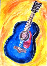 「ぼくのギター」6年