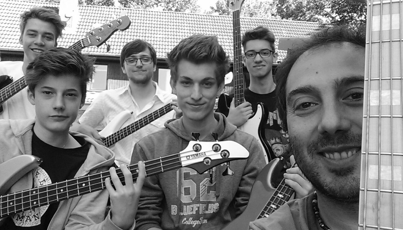 Meine Bassisten in DK