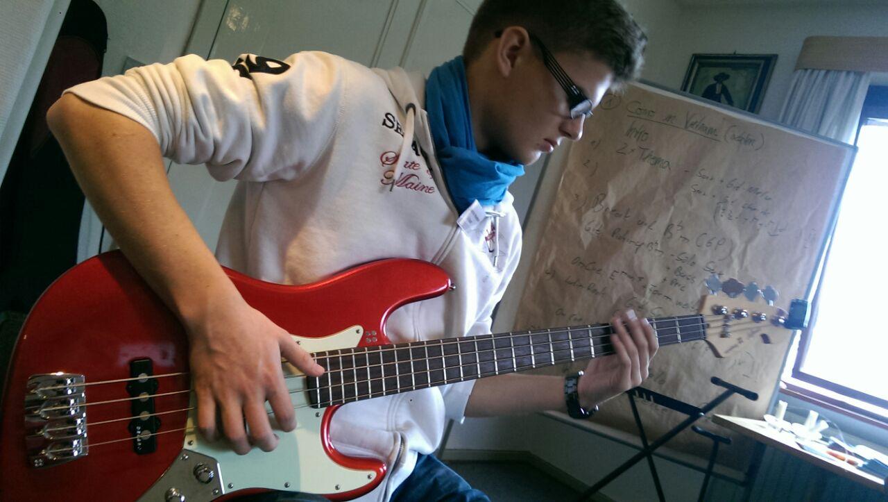 Bass lernen... :-)