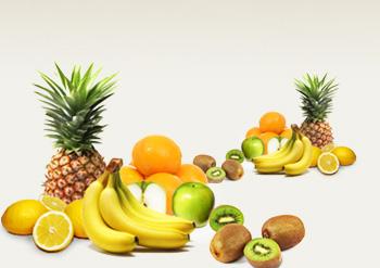 Bananen & Zitrusfrüchte