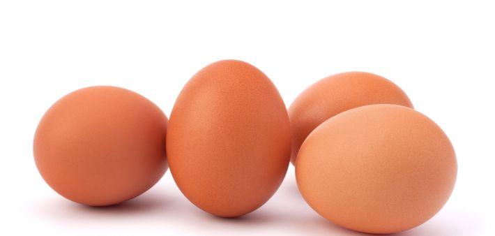 Eier und alle wichtigen Grundnahrungsmittel