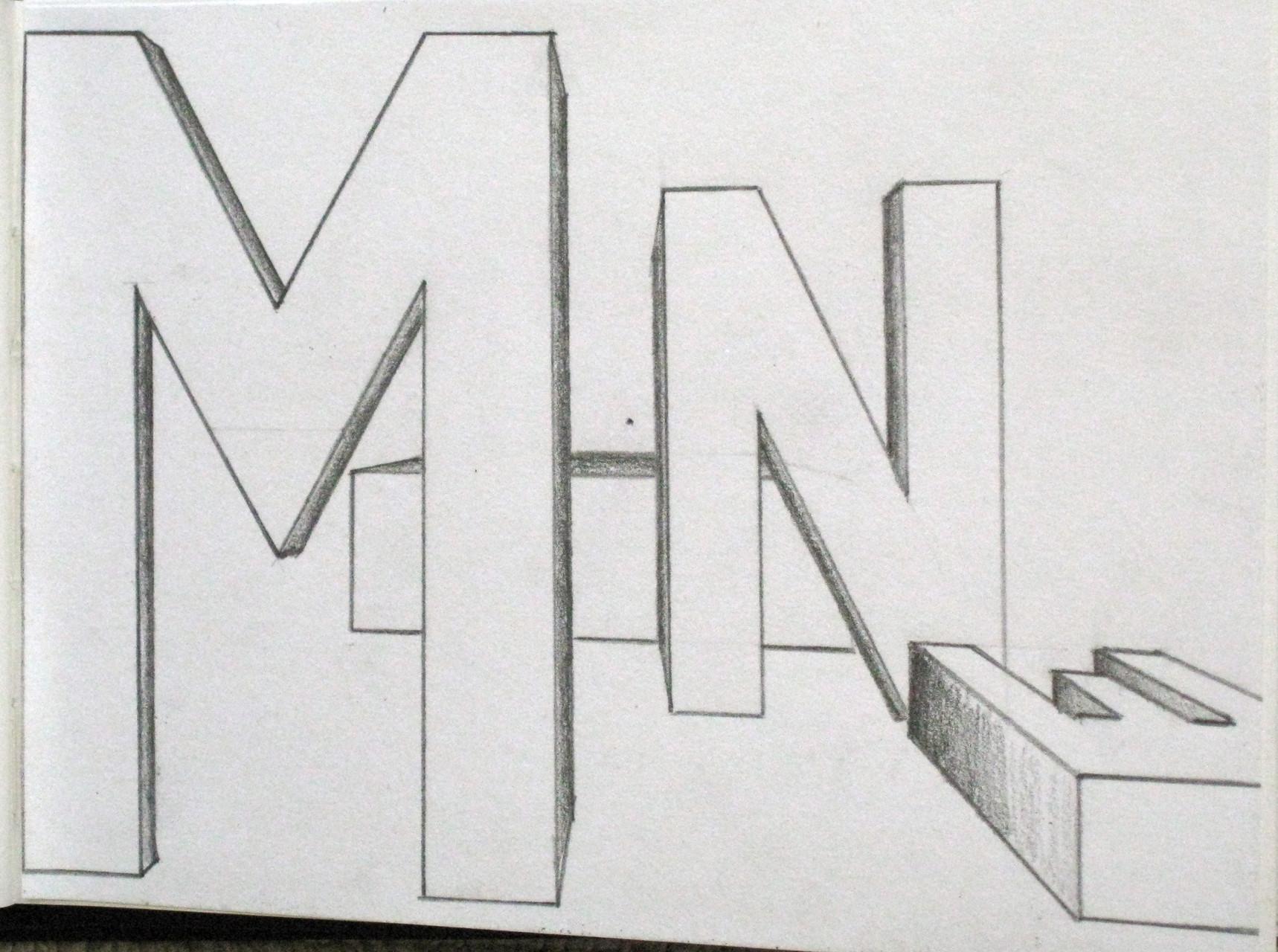 perspektivisches zeichnen anina dirnberger. Black Bedroom Furniture Sets. Home Design Ideas