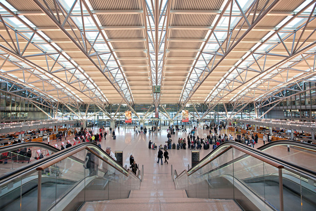 Bild Hamburg Airport - Copyright Michael Penner