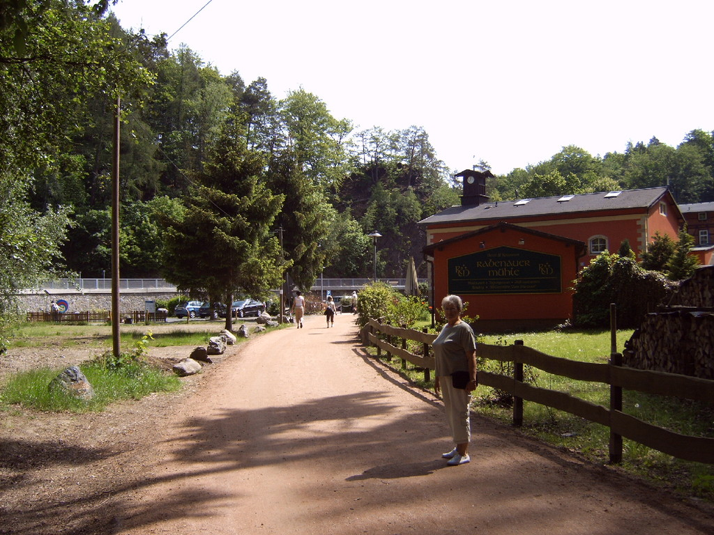 Die Rabenauer Mühle